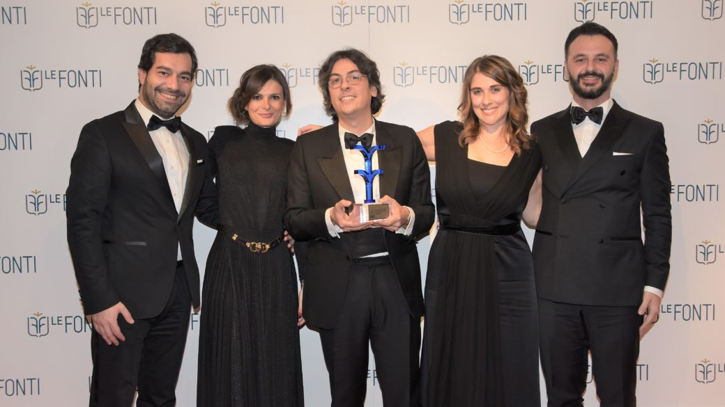 Legal Team vince il premio Le Fonti Awards 2018